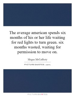 The average amerlcan spends six 