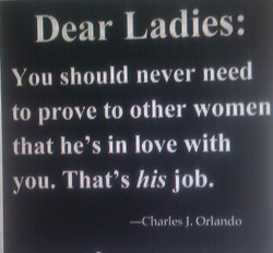 Dear Ladies: 