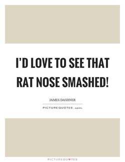 I'D LOVE TO SEE THAT 