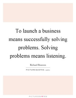 To launch a business 