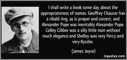 I shall write a book some day about the 