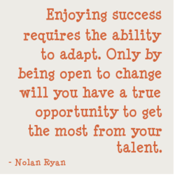 Enjoying success 