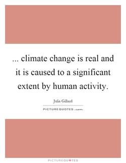 climate change is real and 