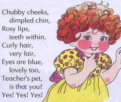Chubby cheeks, 