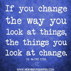 If you change 