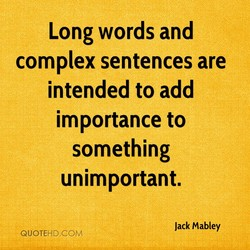 Long words and 