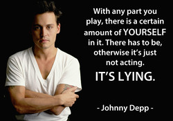 With any part you 