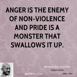 ANGER IS THE ENEMY 