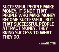 SUCCESSFUL PEOPLE MAKE 