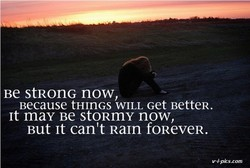 Be stRonG now, 
