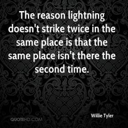 The reason lightning 