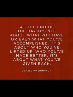 AT THE END OF 