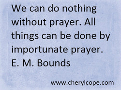 We can do nothing 