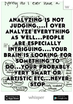 ANALYZING NOT 