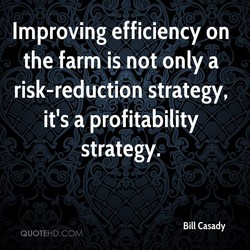 Improving efficiency on 