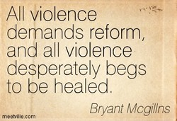 All violence 