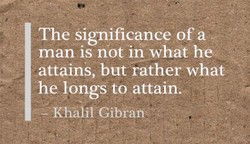 The Significance of a 