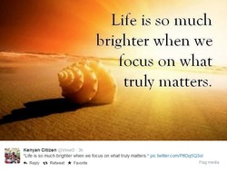 Life is so much