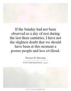 Ifthe Sunday had not been 