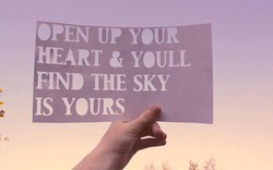 OPEN UP YOUR 