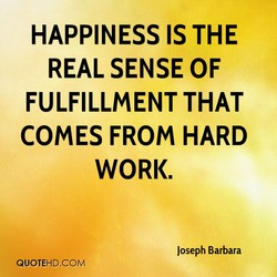 HAPPINESS IS THE 