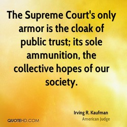 The Supreme Court's only 