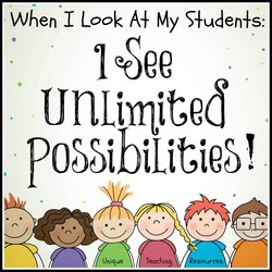 When I Look A} My S+uden+s: 