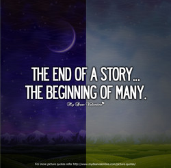 THE END on STORY... 
