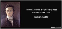 The most learned are often the most 