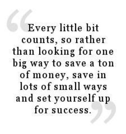 Every little bit 