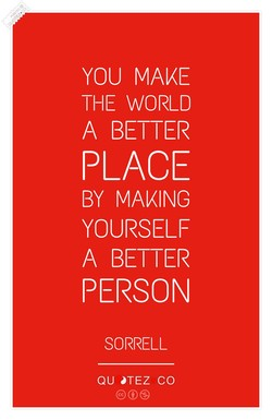 YOU MAKE 