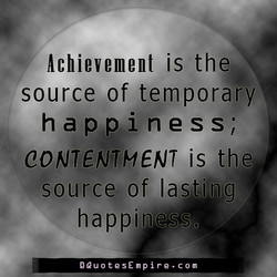 Achievement is the 