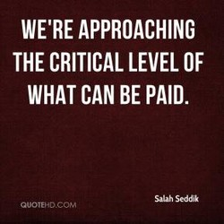 WE'RE APPROACHING 