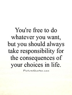 You're free to do 