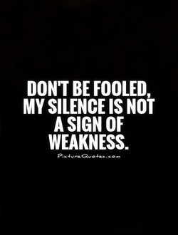 DON'T BE FOOLED, 