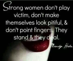 trong women don't play 
