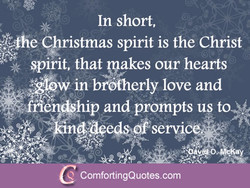 In short, 