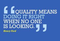 'QUALITY MEANS 