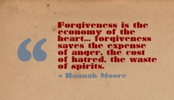 Forgiveness is Ilae 