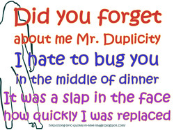 Did you forget 