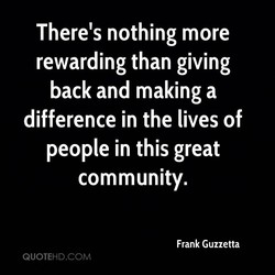 There's nothing more 