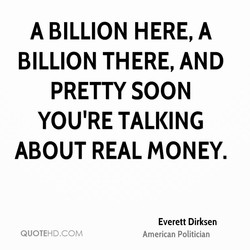 A BILLION HERE, A 
