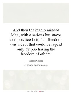 And then the man reminded 