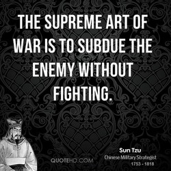 THE SUPREME ART OF 