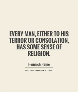 EVERY MAN, EITHER TO HIS 