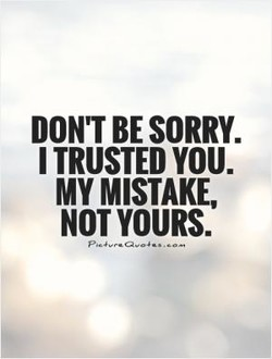 DON'T SORRY. 