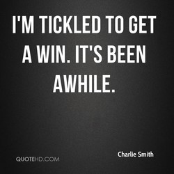 I'M TICKLED TO GET 