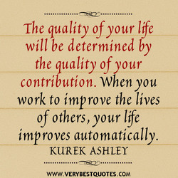 The quality of your Ile 