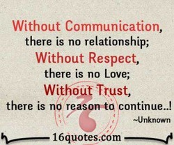 Without Communication,