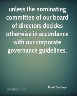 unless the nominating 